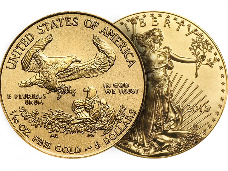 "Coins ""American eagle"" were sold in 2018, at the minimum 11 years price"