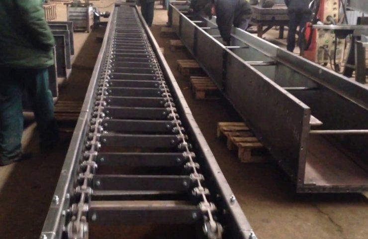 Конвейер в промышленности ленточный конвейер 2л 140