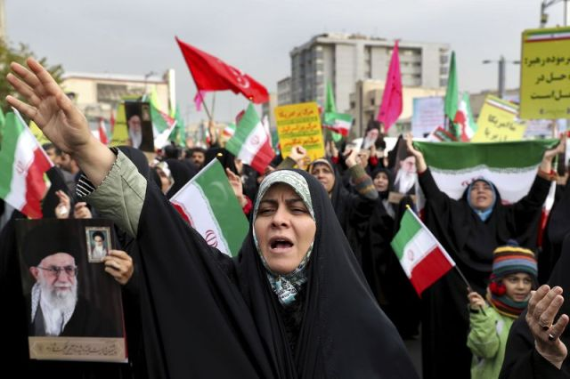 After protests over petrol prices Iran declared readiness to return to negotiations with the United States