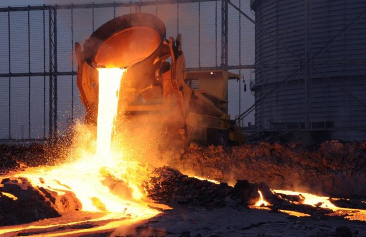 The road rolled up in the Ukrainian metallurgical slag and other wastes instead of the Russian bitumen