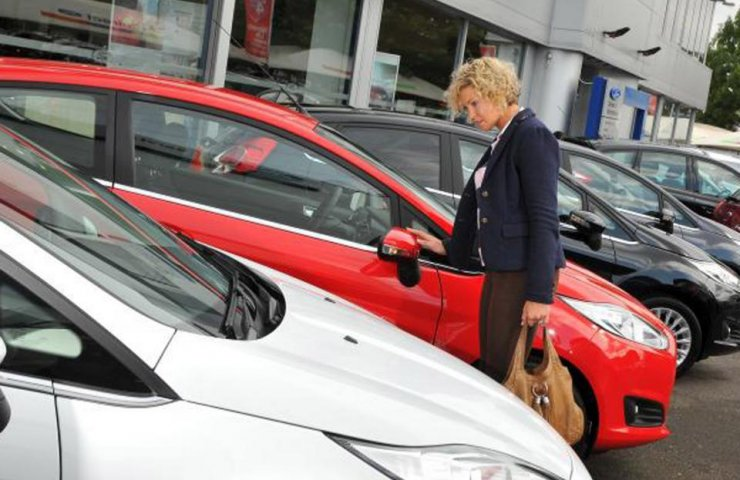 In Ukraine the rapidly growing demand for automobile second hand