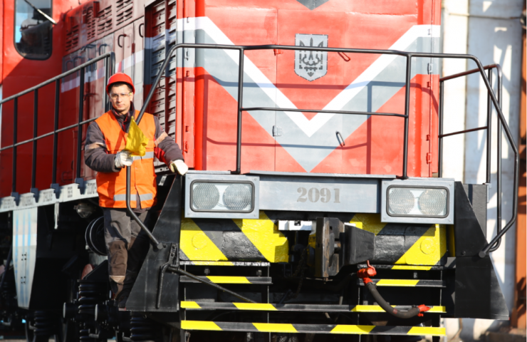 """Zaporizhstal"" changing the engines of Russian locomotives on the us for fuel economy"