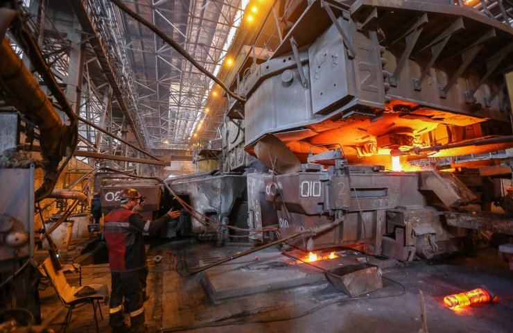 The fall in steel production at the plants of Metinvest in the 4th quarter 2019 exceeded 16%