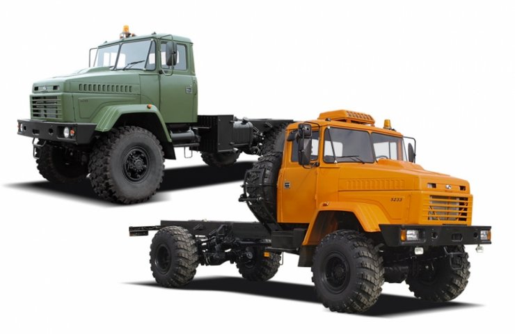 The Kremenchug automobile plant has received an order for a self-propelled chassis of a mysterious buyer
