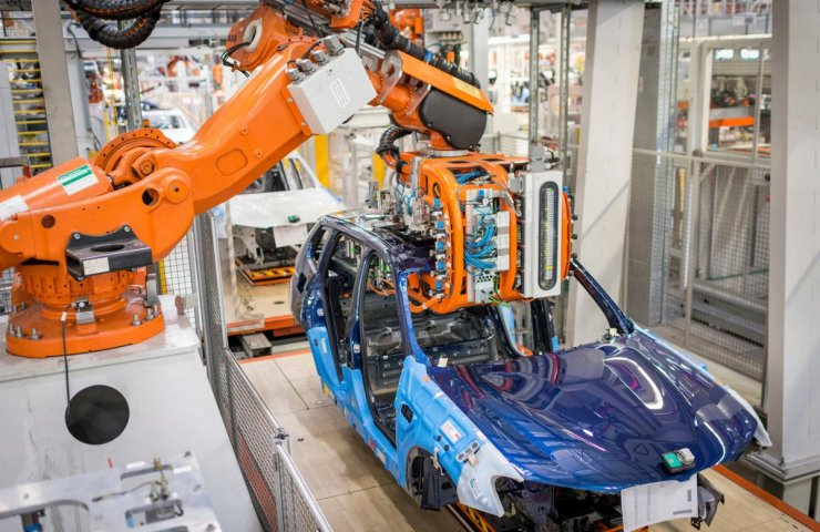 European automakers stopped production