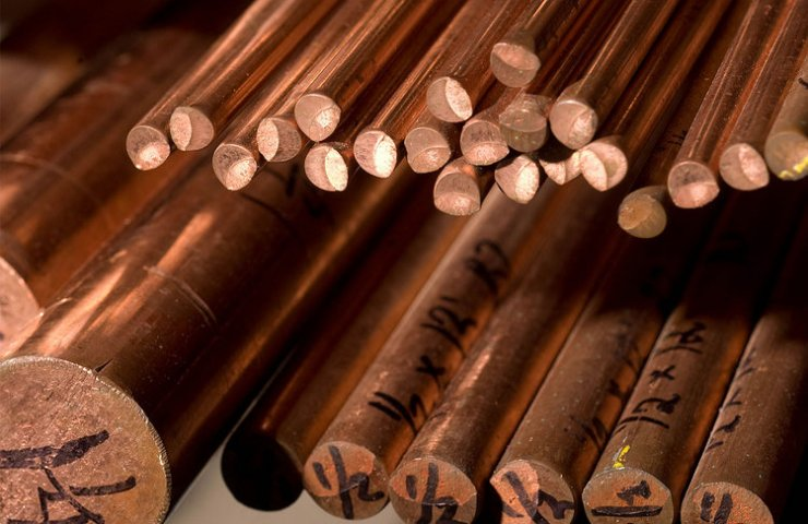 Copper per day fell by almost 8% and costs less than $ 5,000 per ton