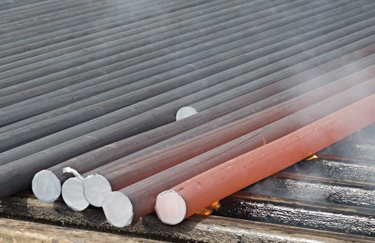 Ukraine in the first quarter increased export of semi-finished products from carbon steel by 12.3%