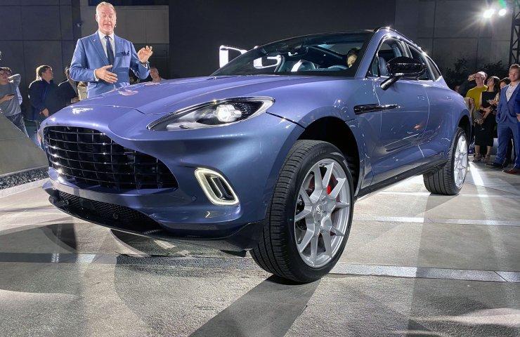 Новый глава Aston Martin решил сосредоточится на производстве внедорожников