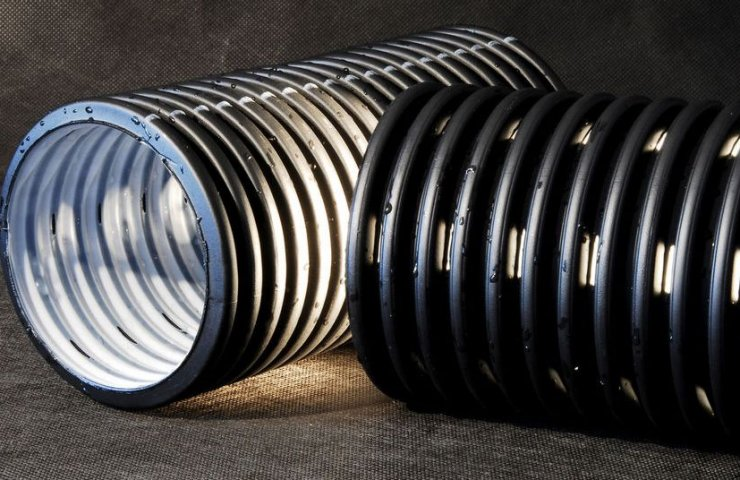 Drainage pipes for private land
