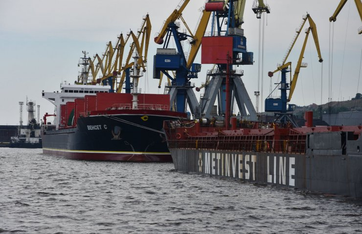 Net profit of commercial port of Mariupol for half a year soared 58 times