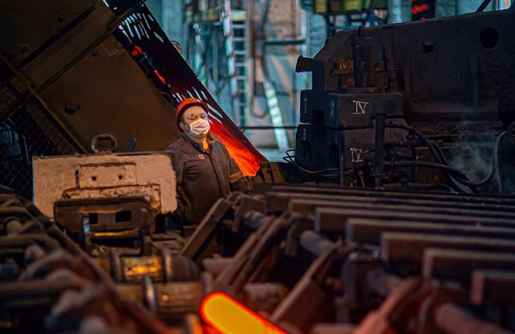 "At Azovstal repaired the ball-rolling mill ""1040"" for 8 million hryvnia"