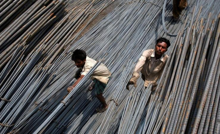 Moody  's: steel consumption in India will decrease by 10%