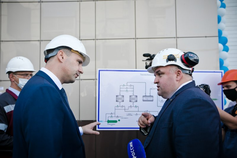 In Mednogorsk, the construction of a new oxygen station was completed and a sports and recreation complex was put into operation