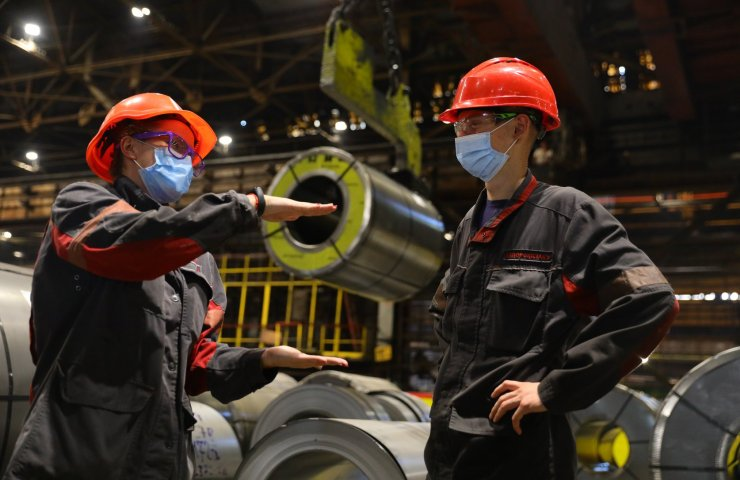 "Zaporizhstal reduced steel production due to ""market conditions"""
