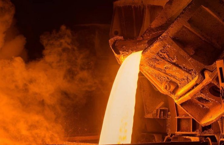 Ukraine for 8 months of 2020 reduced steel production by 6.2%