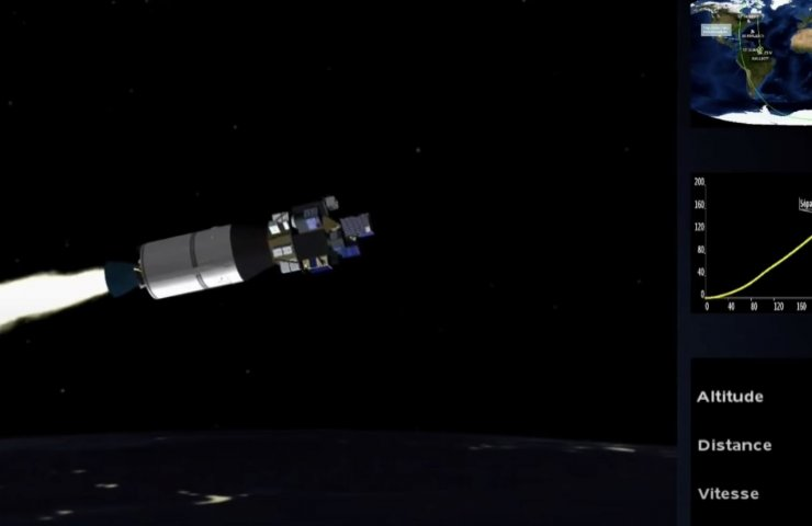 Yuzhmashevsky engine successfully launched a French rocket into Earth orbit