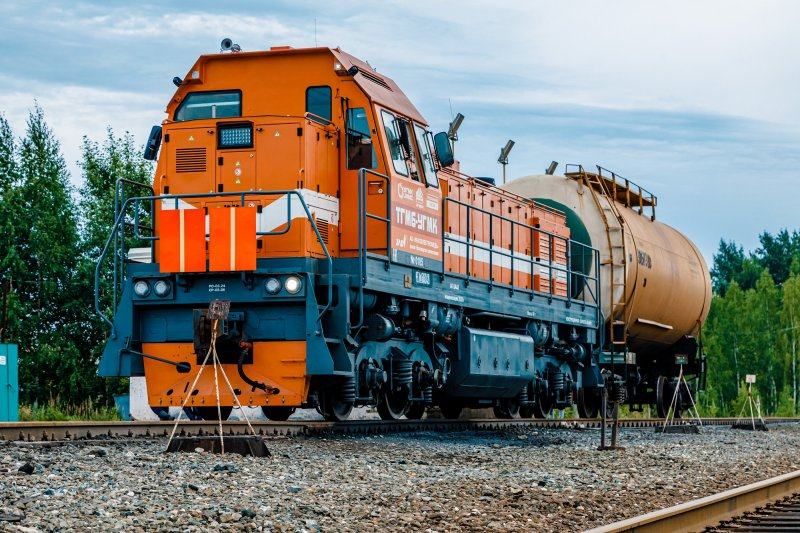 "Diesel locomotive UMMC entered the main line of JSC ""Russian Railways"""