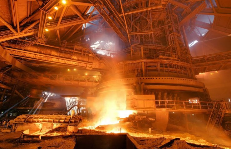 Steel production in September 2020