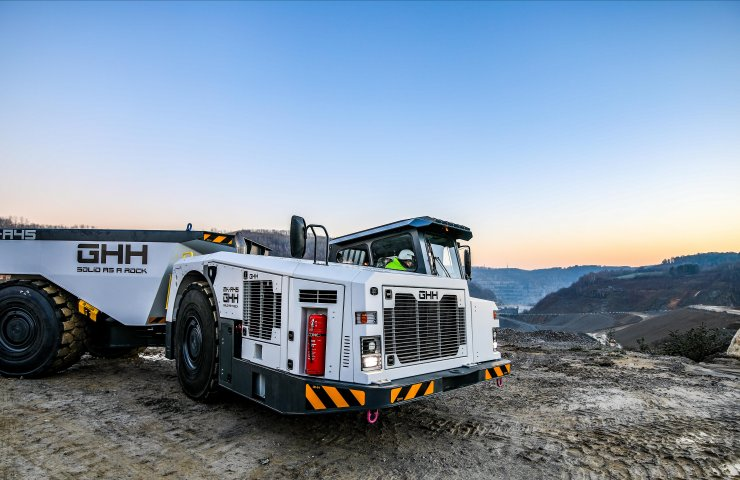 Within our grasp: The new 45-ton mining dump truck from GHH Group is now in Russia