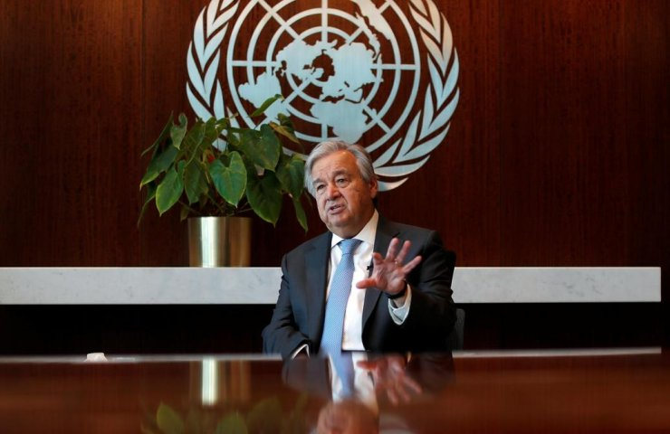 UN chief called for full decarbonization of the world economy