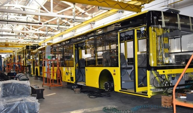 """Bogdan Motors"" started manufacturing trolleybuses for KP ""Kyivpastrans"""