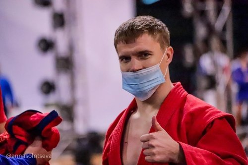 Vladimir Gladkikh from UMMC Sambo Club - World Champion