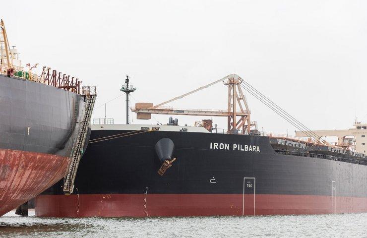 Железорудные танкеры BHP переходят на сжиженный природный газ
