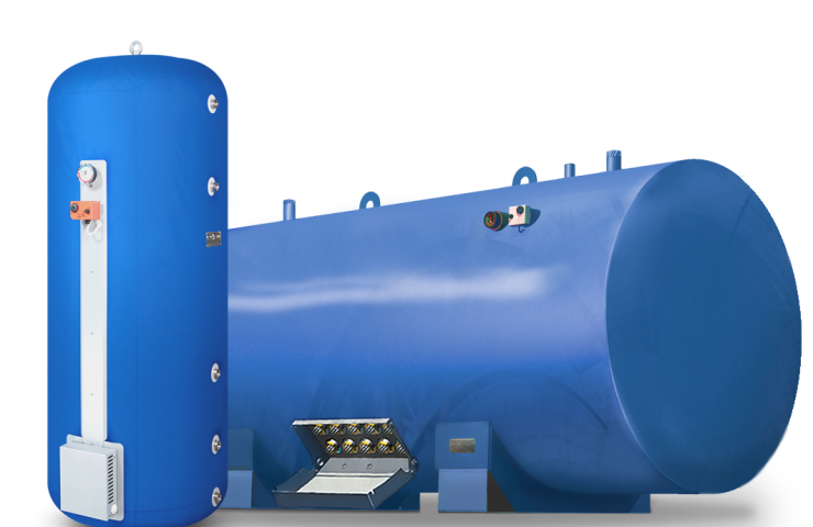 Selection of industrial water heaters