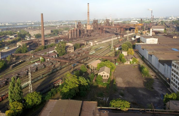 Dnipro Metallurgical Plant will hold hearings on emissions of dirt into the atmosphere