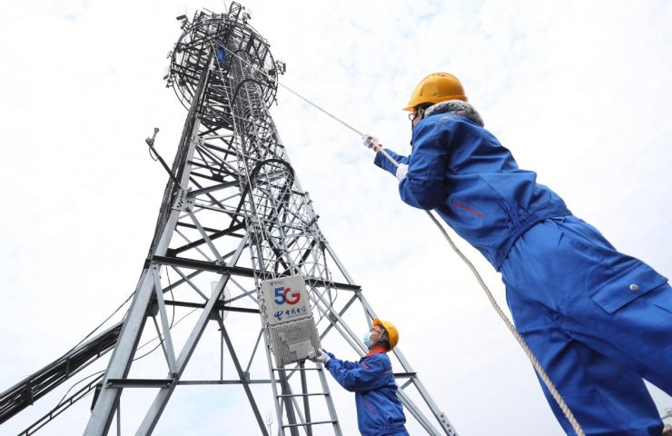 China plans to build 600,000 more 5G base stations in 2021