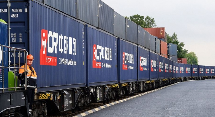 In 2020, Ukraine received 22 container trains from China