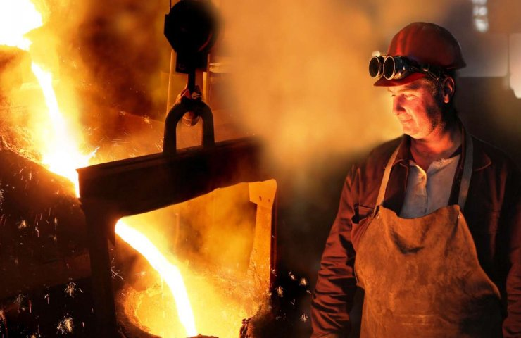 Steel production in Ukraine in 2020 decreased by 1.4%