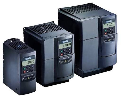 Frequency converters and gas analyzers manufactured by Siemens