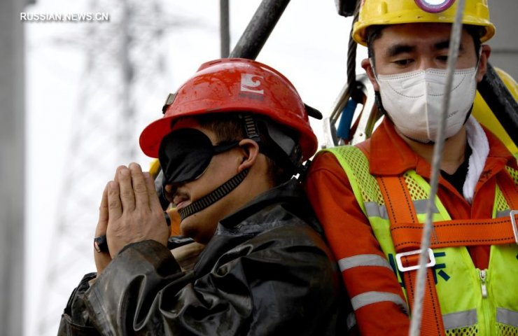11 miners rescued from exploding gold mine in China on January 10