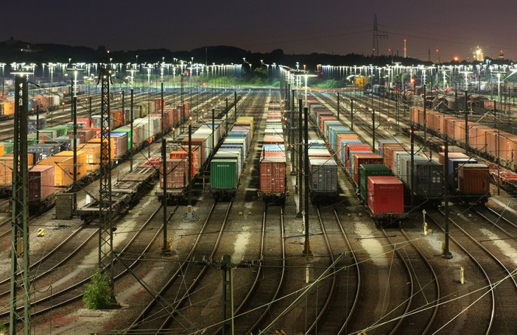 Search for a container online Russian Railways by number