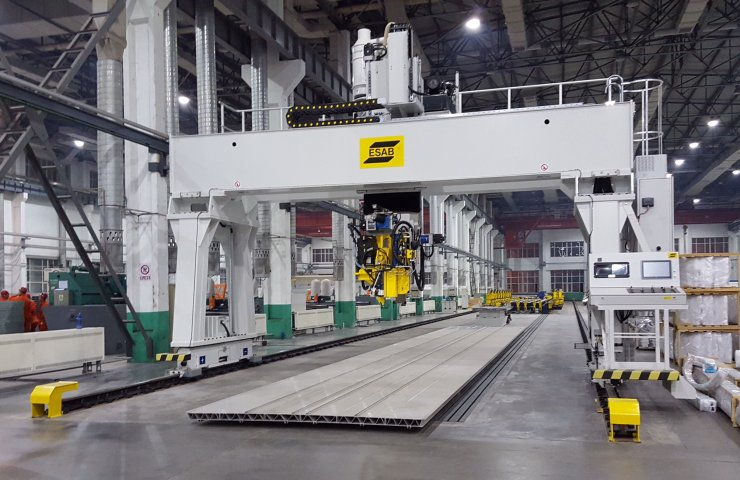 At the top of efficiency: ESAB technology has increased the productivity of welding production by 600%