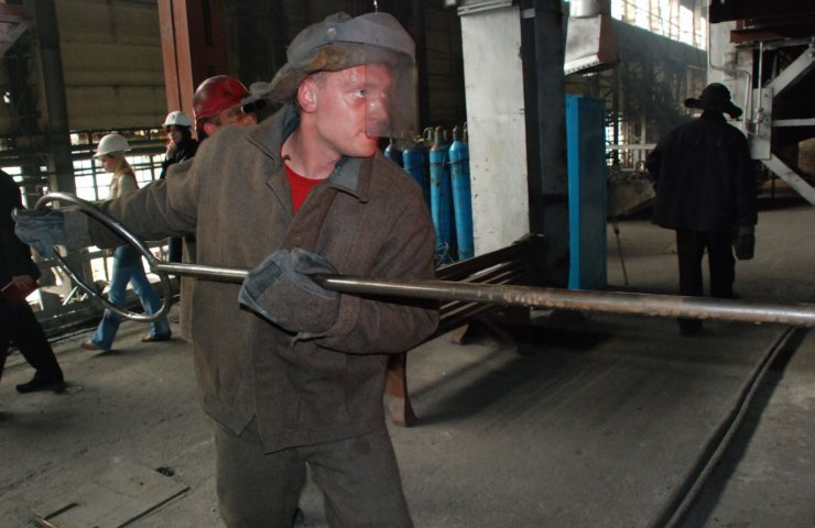 Nikopol Ferroalloy Plant started talking about wage increase