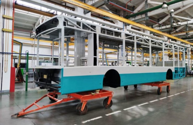"Automobile assembly plant ""Bogdan-Motors"" started to manufacture trolleybuses for Sumy"
