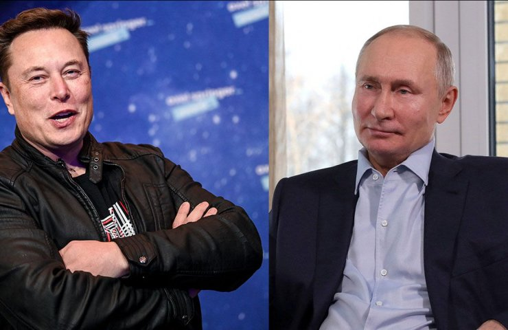 Elon Musk invited Vladimir Putin to the online chat Clubhouse