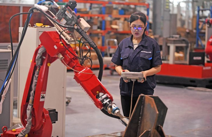 Industrial robot production in China up 19.1% in 2020