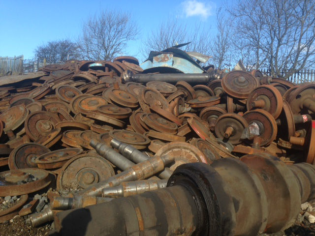 Ukrzaliznytsia held 11 auctions for the sale of scrap metal worth half a billion hryvnia