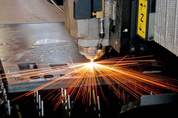 Laser cutting machines for sheet metal rolling