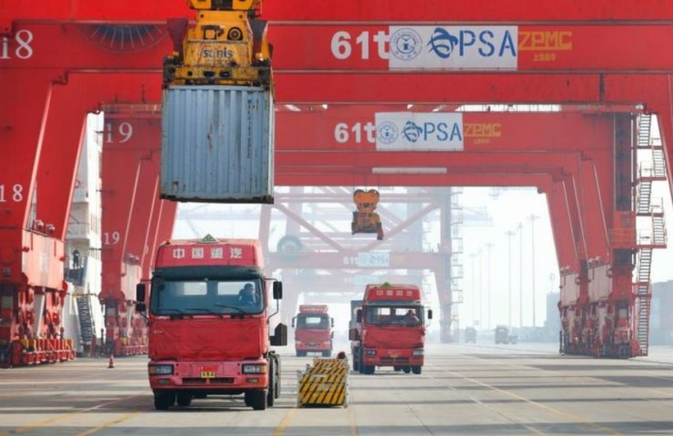 China's foreign trade turnover grew by 29.2% in the first quarter of 2021