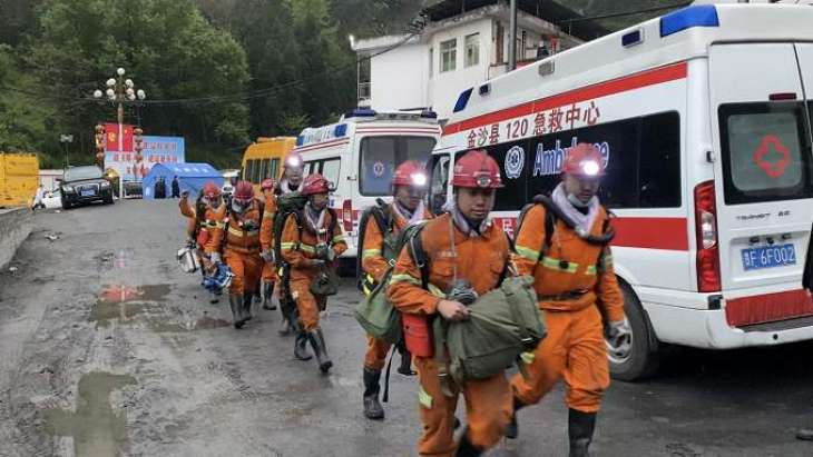 8 people were killed and one injured as a result of the release of coal and gas at a coal mine in southwestern China